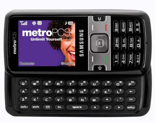 metro pcs samsung messenger 3. Carrier: Criket amp; Metro PCS