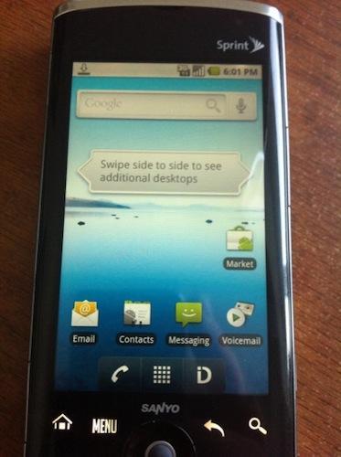 sanyo zio review by aaron phonedog rh phonedog com Sanyo Phone Sanyo Phone