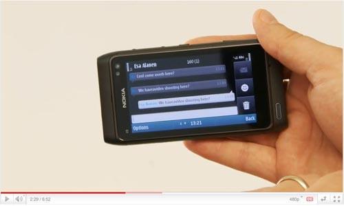 Nokia N8 video walkthrough shows off multitasking, Flash