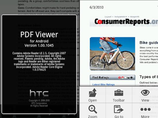 Htc pdf viewer download