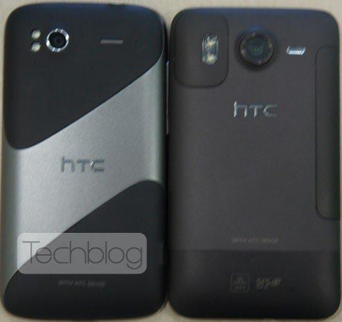 HTC Pyramid rear