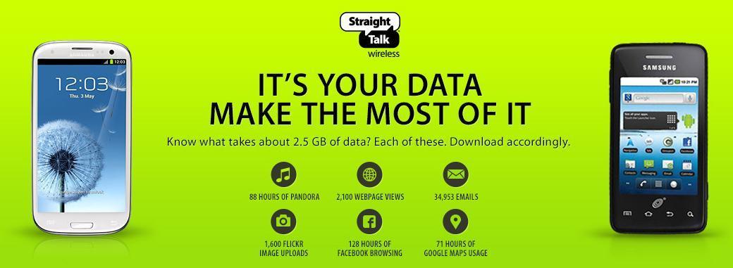 straighttalk unlimited data plan 25gb throttling