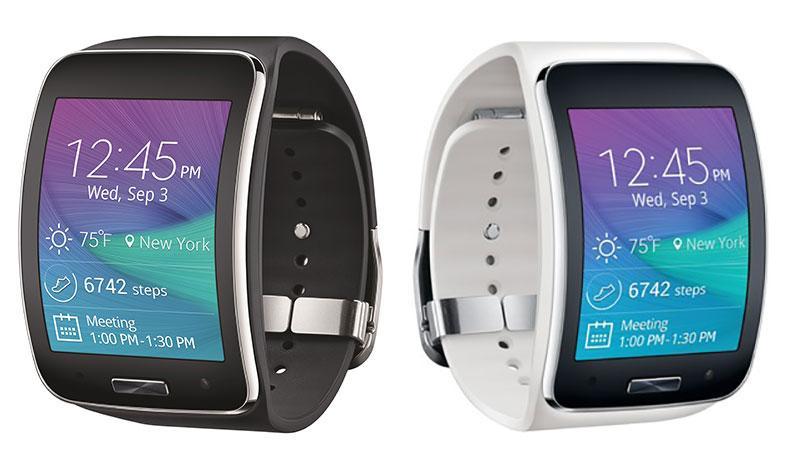 Samsung Gear S Black White