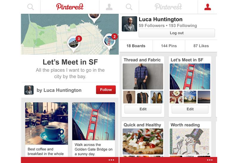 Official pinterest app now available on windows phone phonedog - Pinterest mobel ...