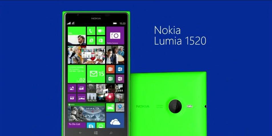 Nokia Lumia 1520 (Green) Unboxing - YouTube