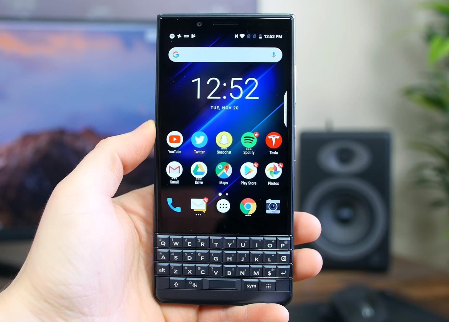 Blackberry Key2 Le Launching To Verizon Business Customers