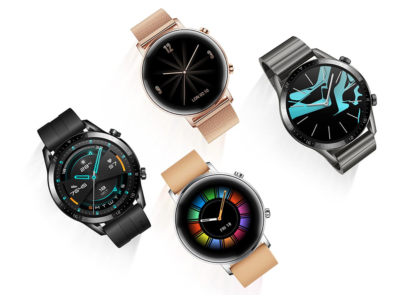 huawei watch gt vs huawei watch 2