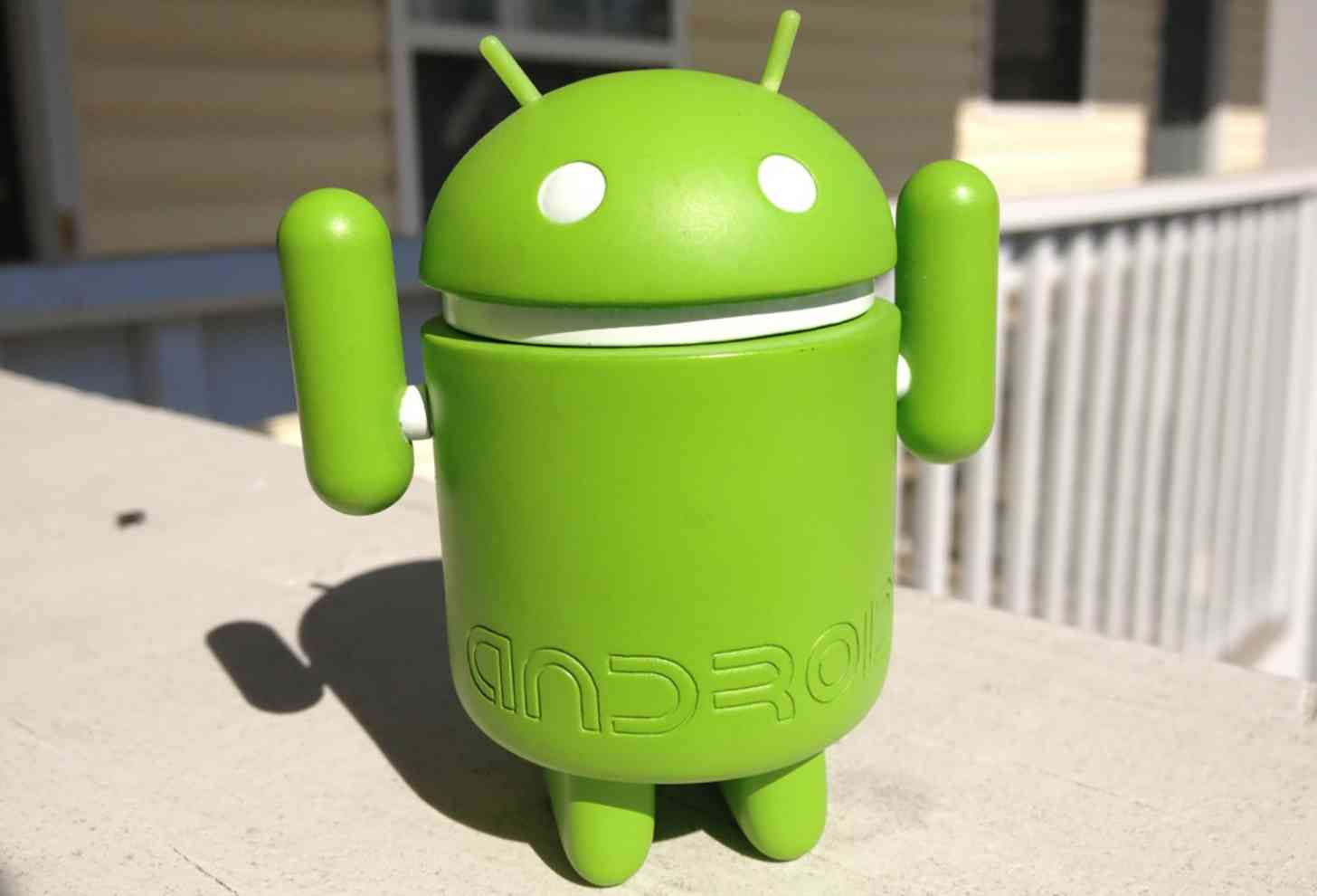 Android figure close