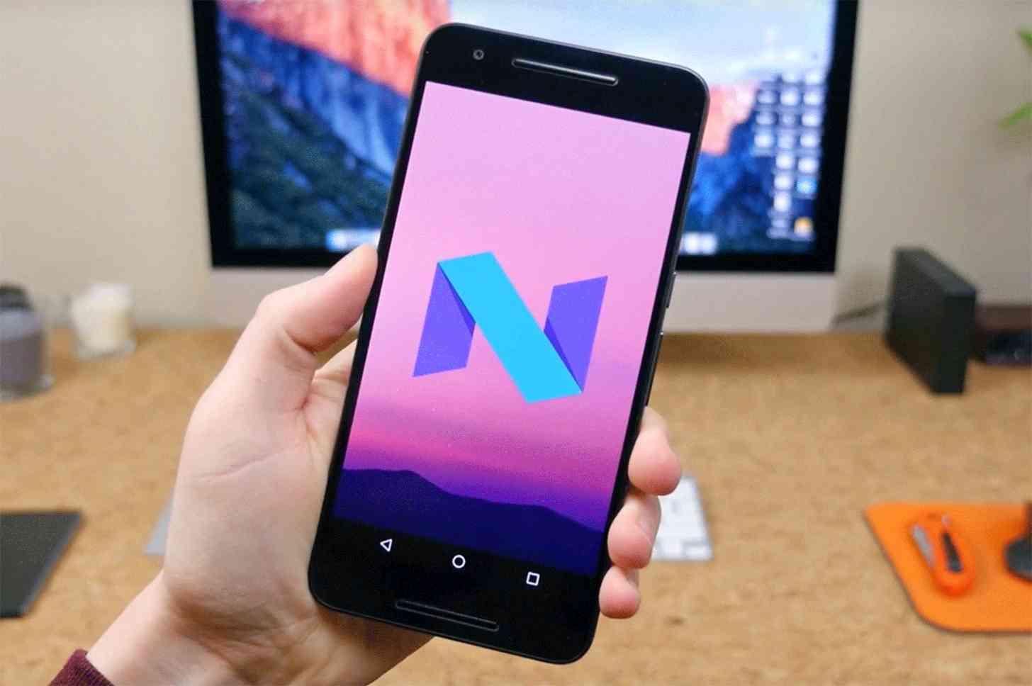 Android 7.0 Nougat Easter egg