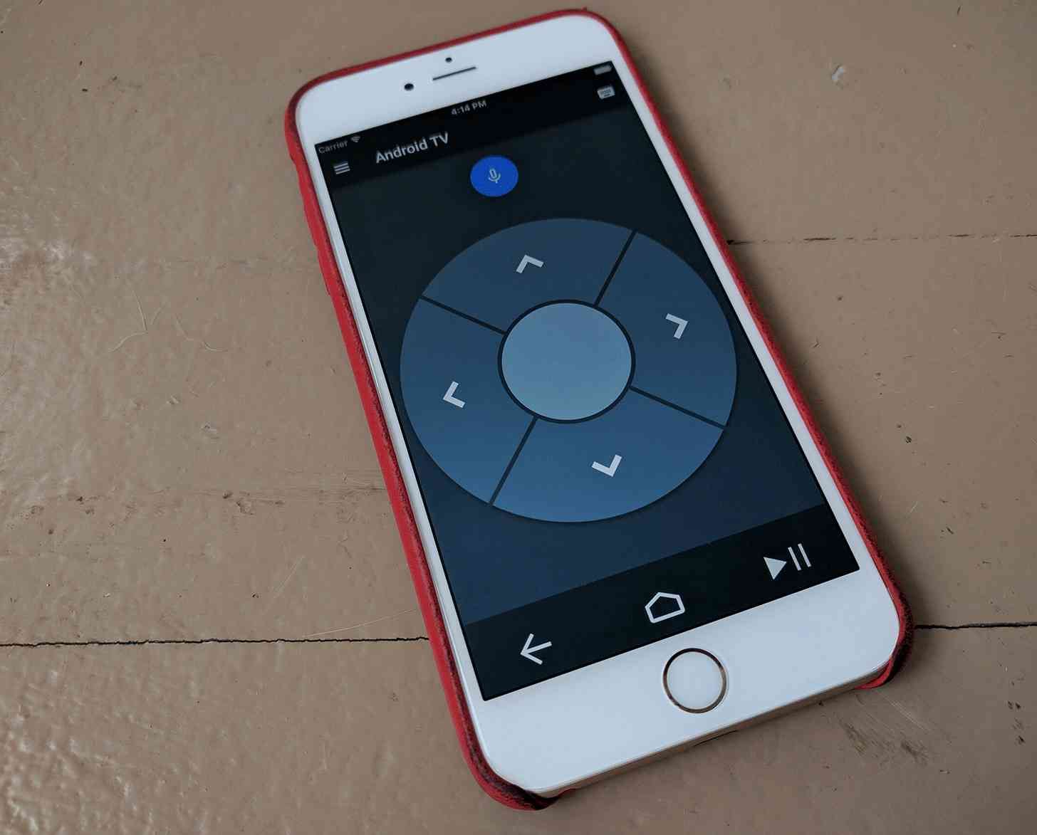 Android TV remote iOS app