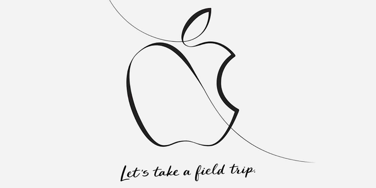 Apple education event March 27 invitation