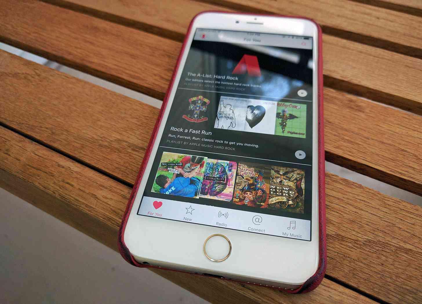 Apple Music app iPhone
