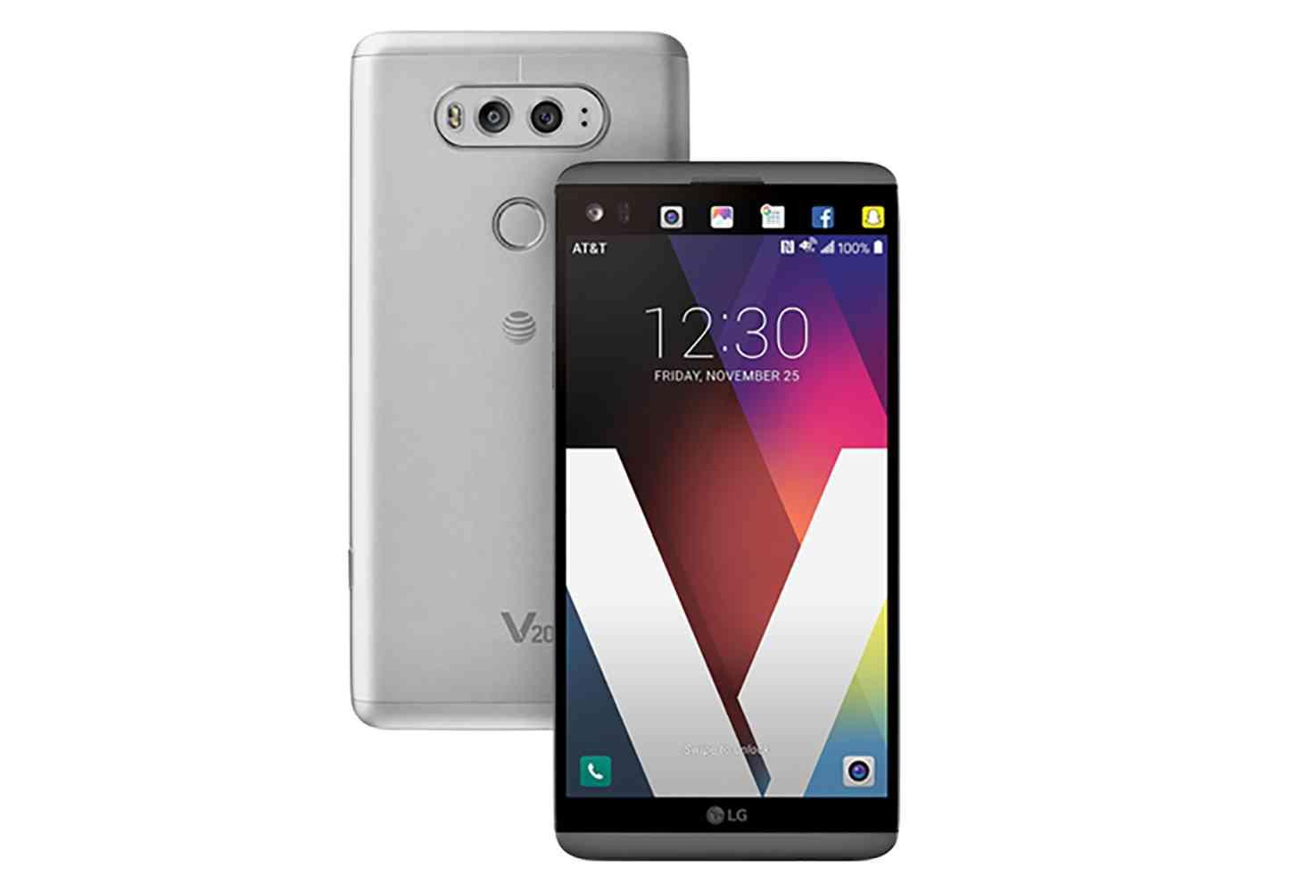 AT&T LG V20 official branding