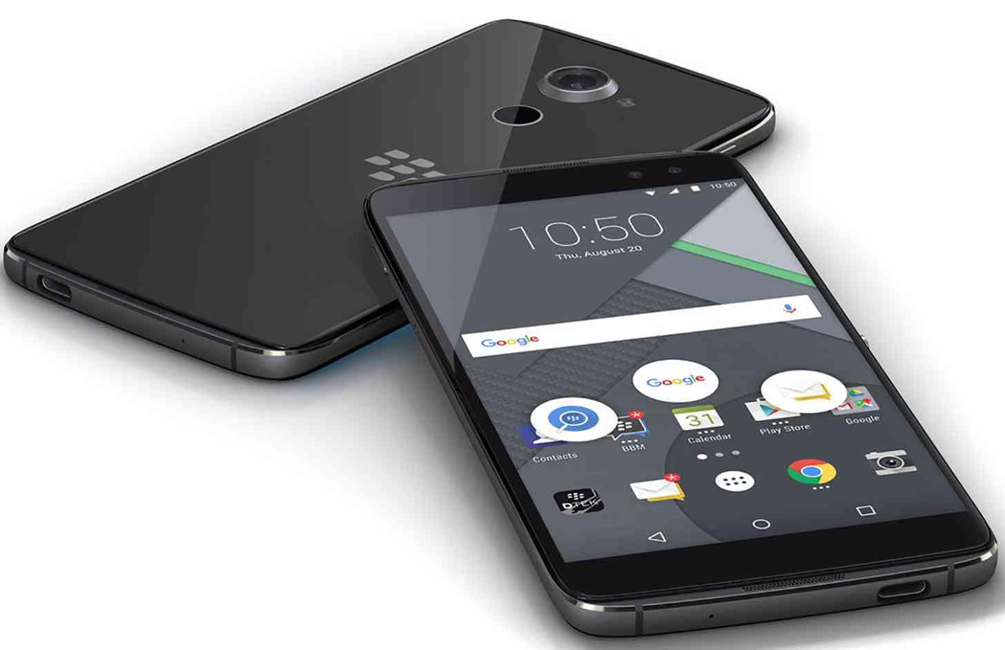 BlackBerry DTEK60 leak front back