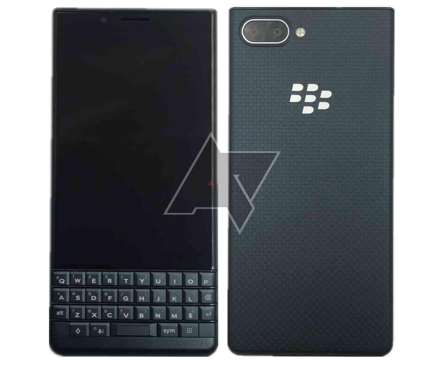 BlackBerry KEY2 LE images leak