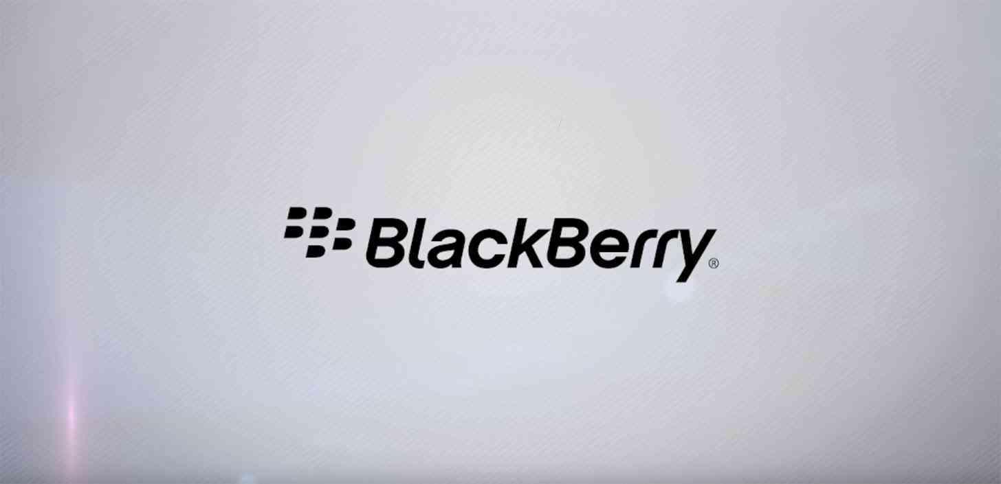 BlackBerry logo large