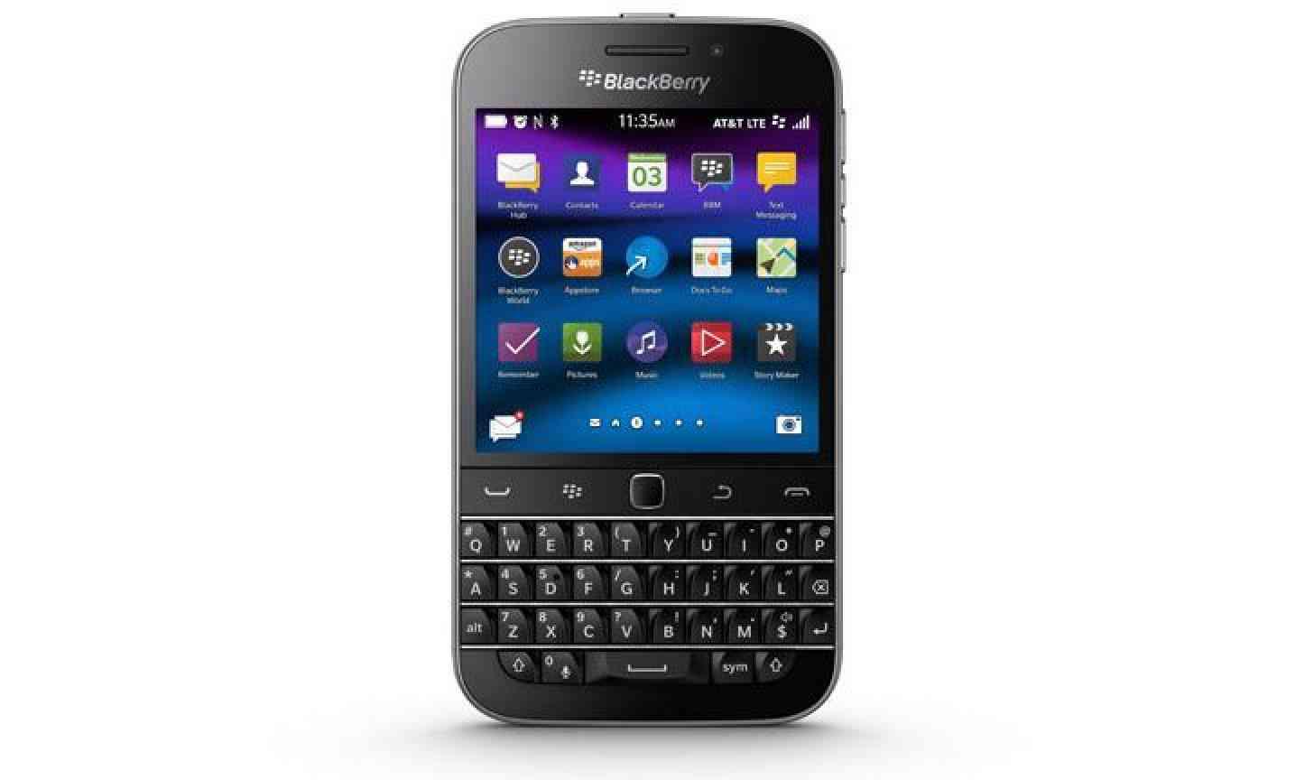 how to change interface blackberry passport