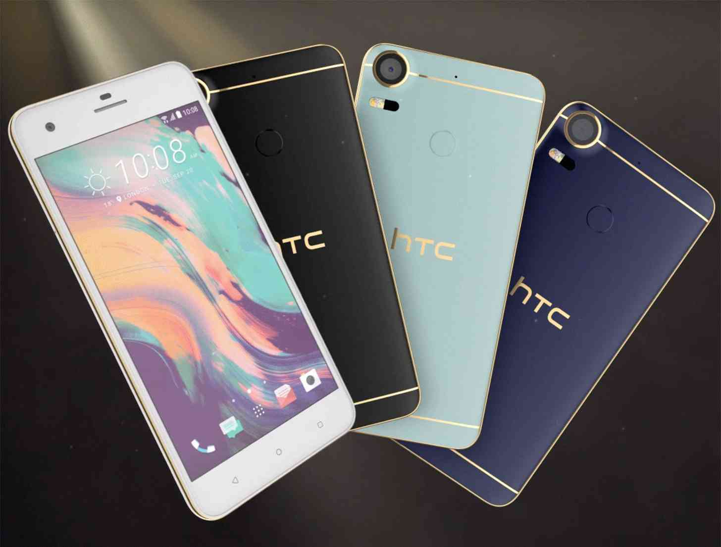 official photos 12580 c01c1 HTC Desire 10 Lifestyle and Pro official with metallic contour ...