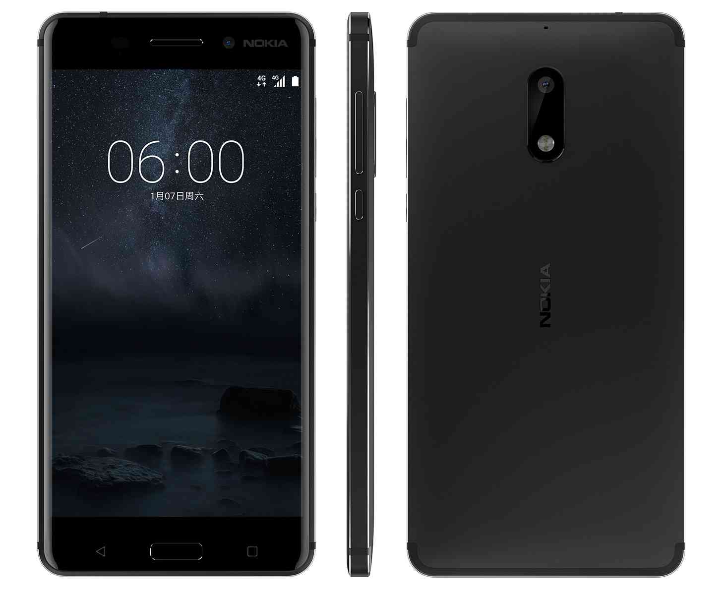 Nokia 6 Official With 5 5 Inch Display Aluminum Unibody