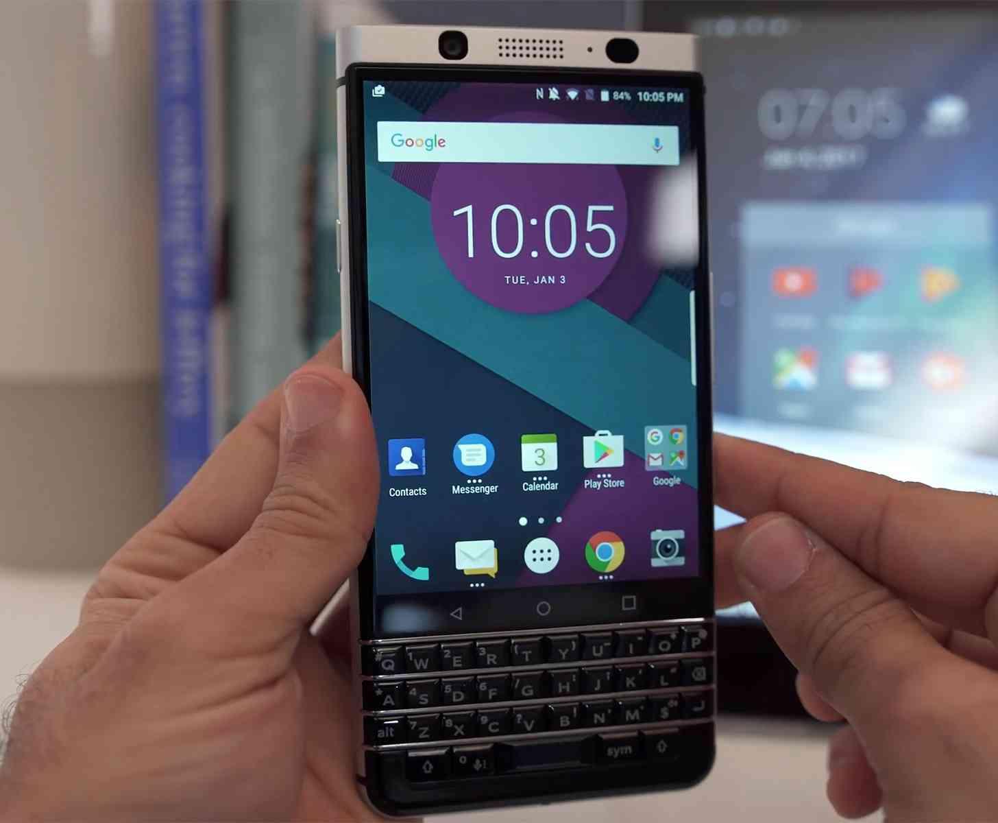 BlackBerry KeyOne hands-on front