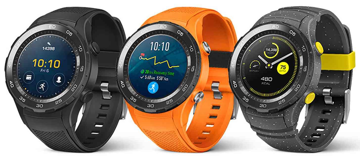 Huawei Watch 2 color options leak