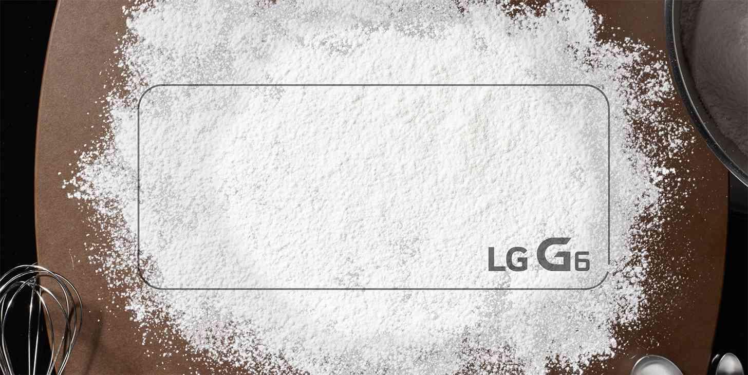 LG G6 dust resistance teaser