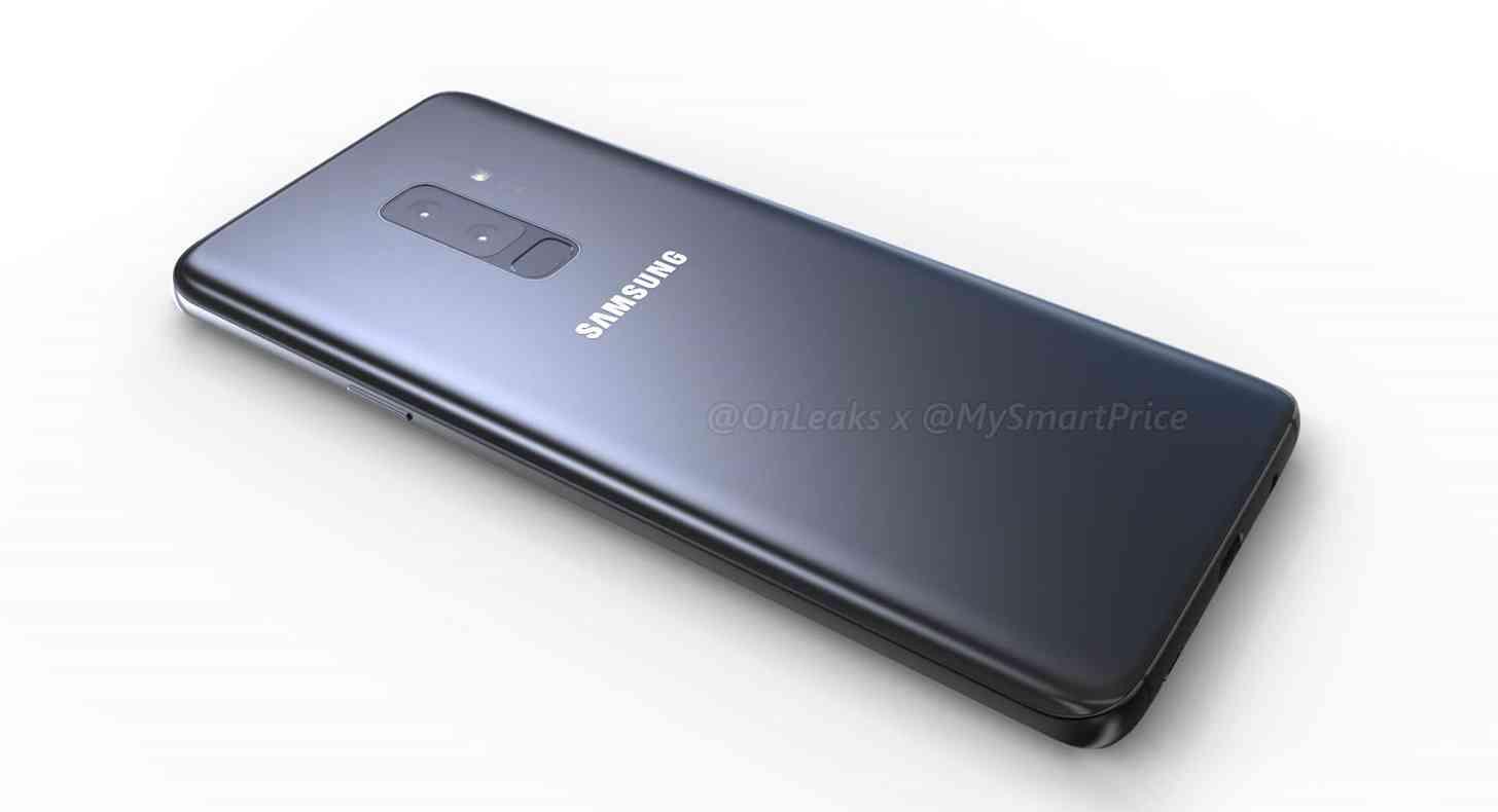 Samsung Galaxy S9+ leak rear dual cameras