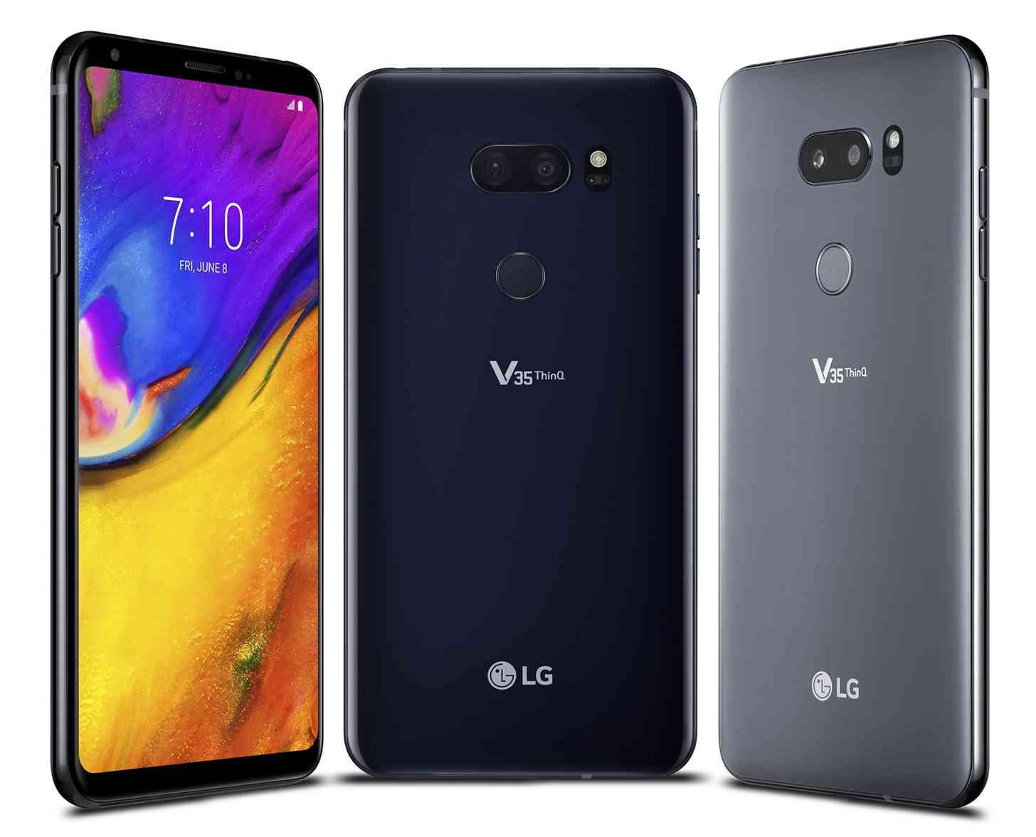 LG V35 ThinQ colors