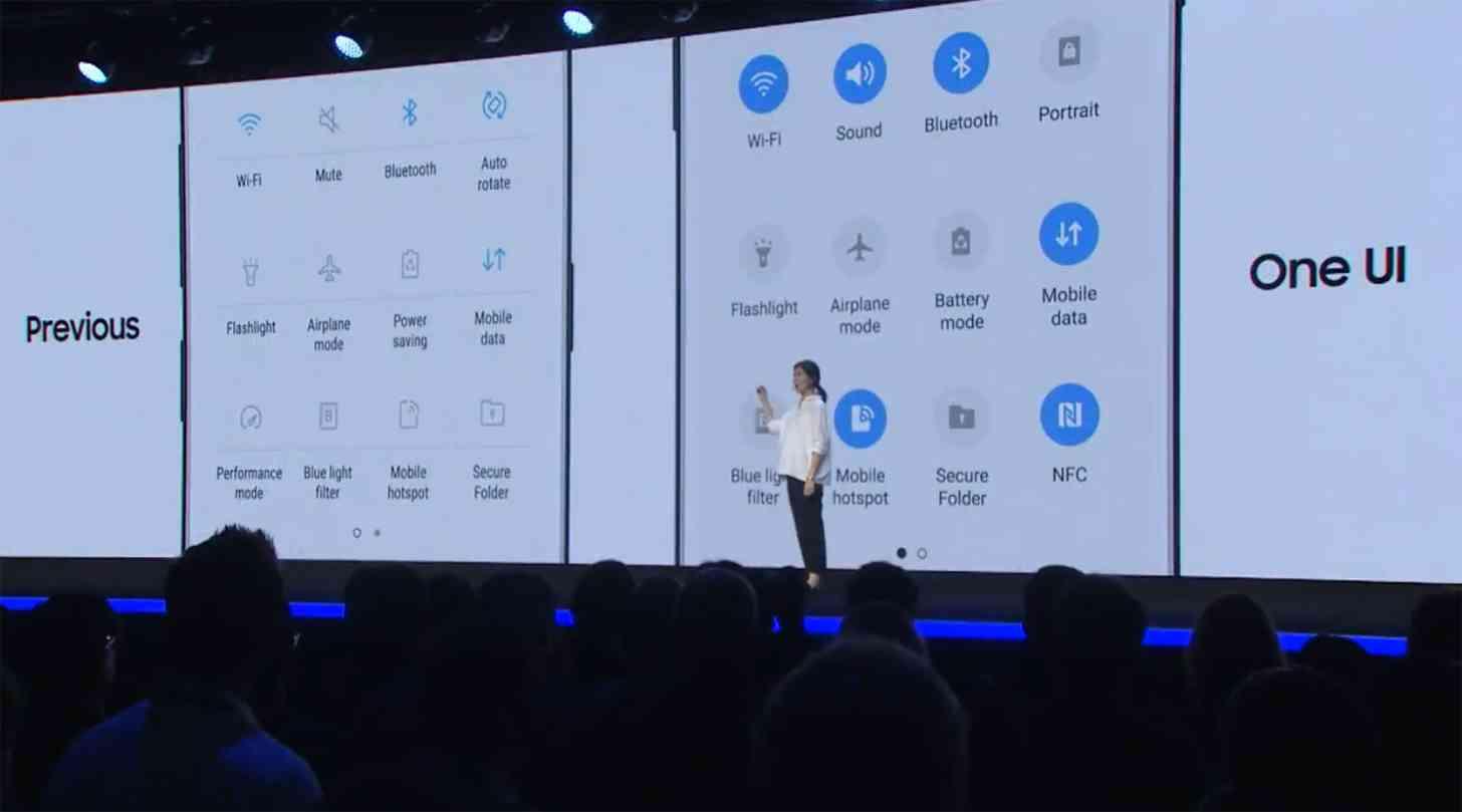 Samsung intros One UI to make big screens easier to use