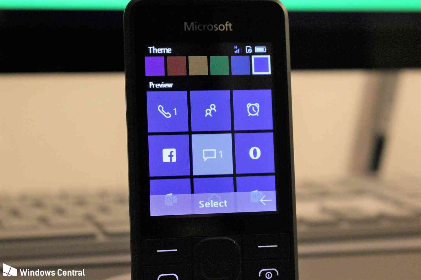 Microsoft RM-1182 feature phone software