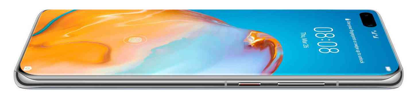 Huawei P40 Pro display