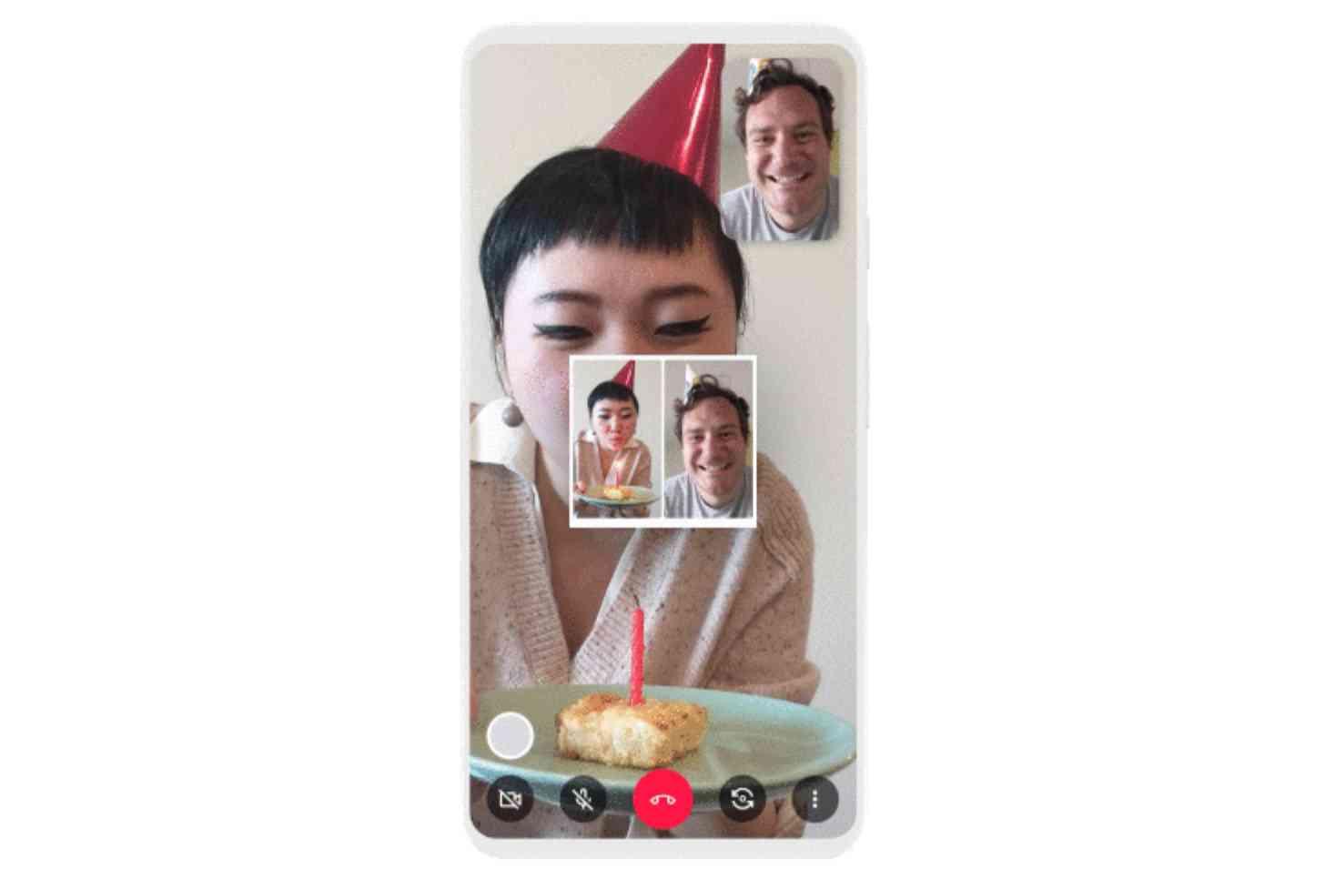 Google Duo snapshot feature