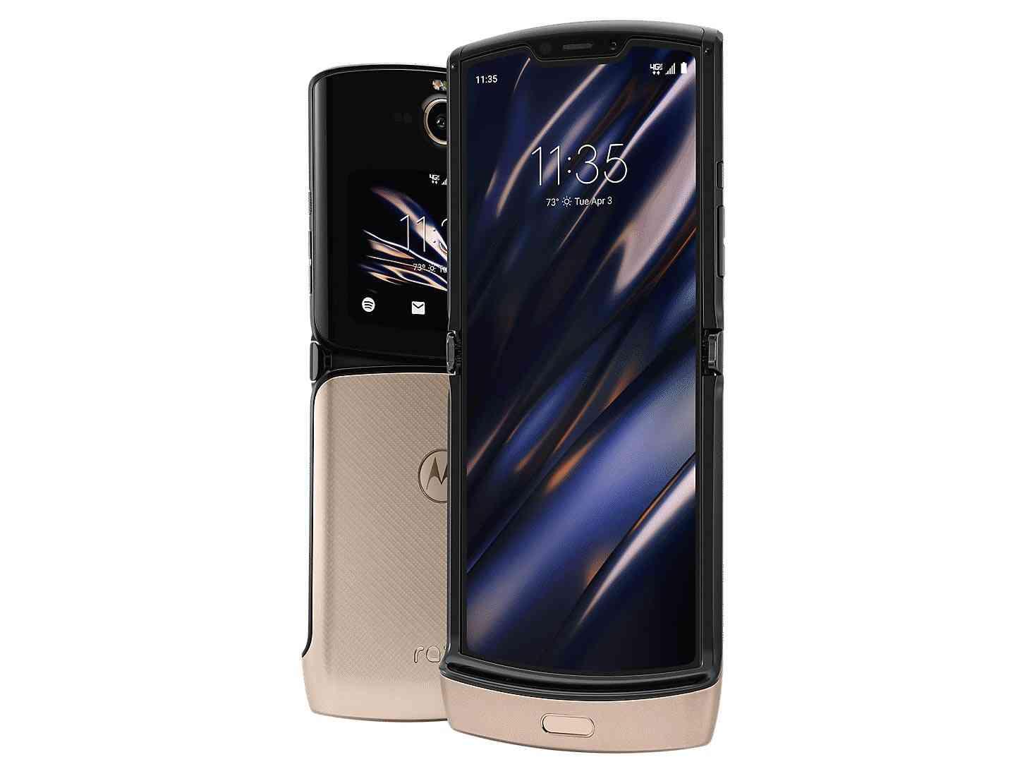 Motorola Razr Blush Gold Verizon