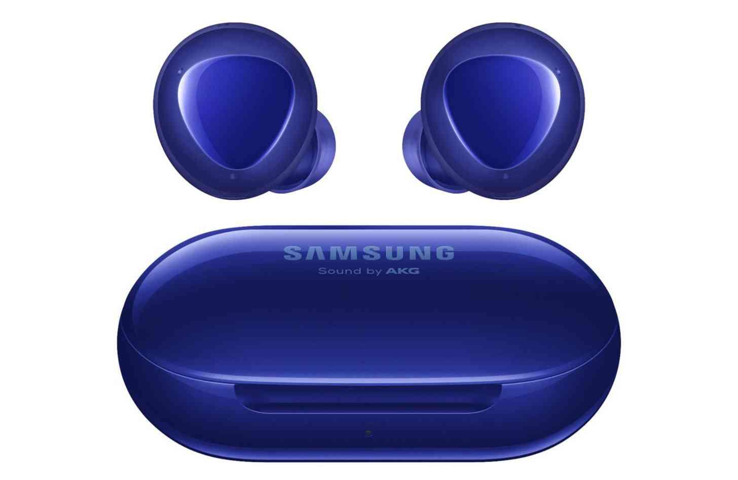 Samsung Galaxy Buds+ Aura Blue case earbuds