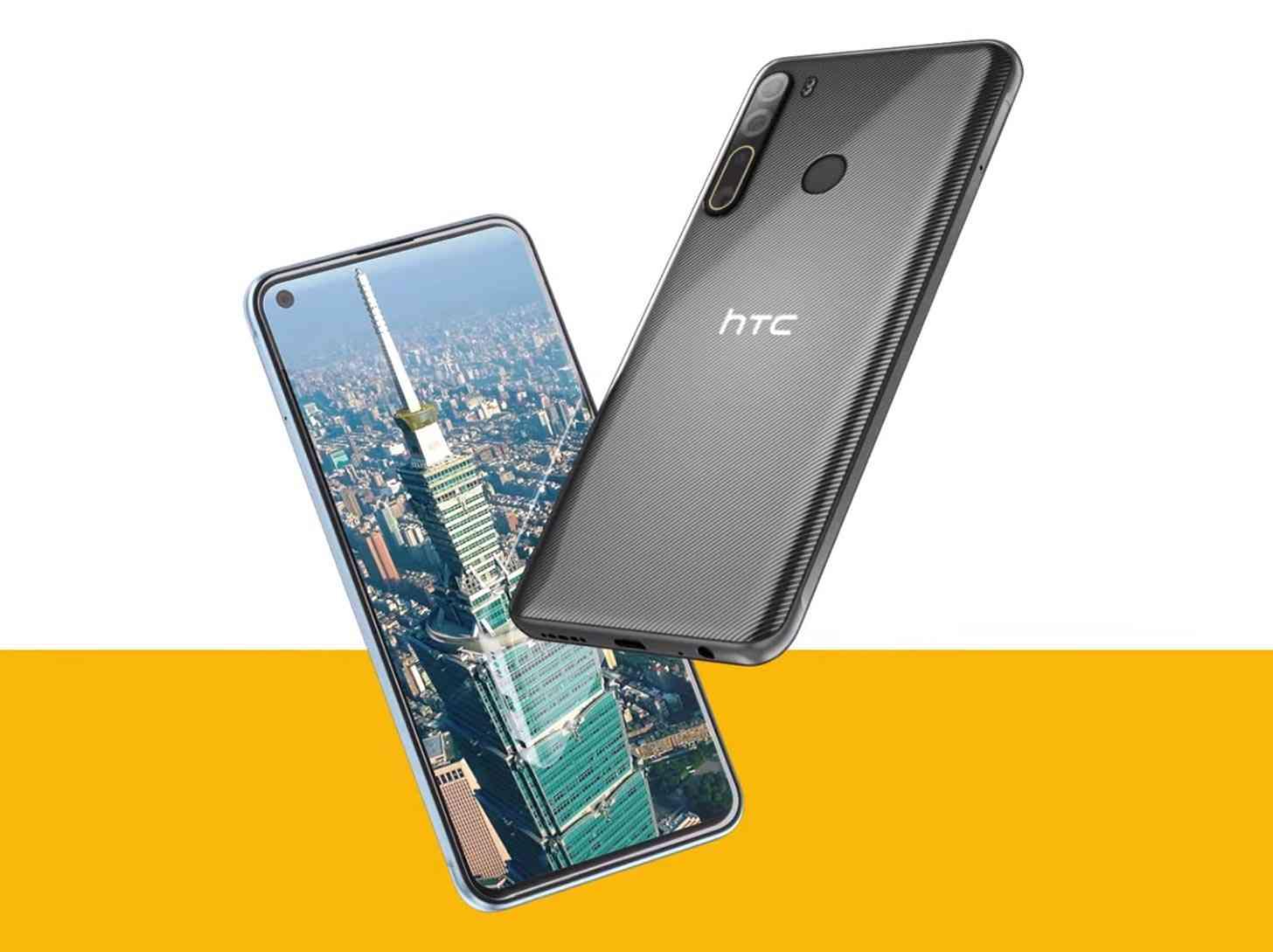 HTC Desire 20 Pro official