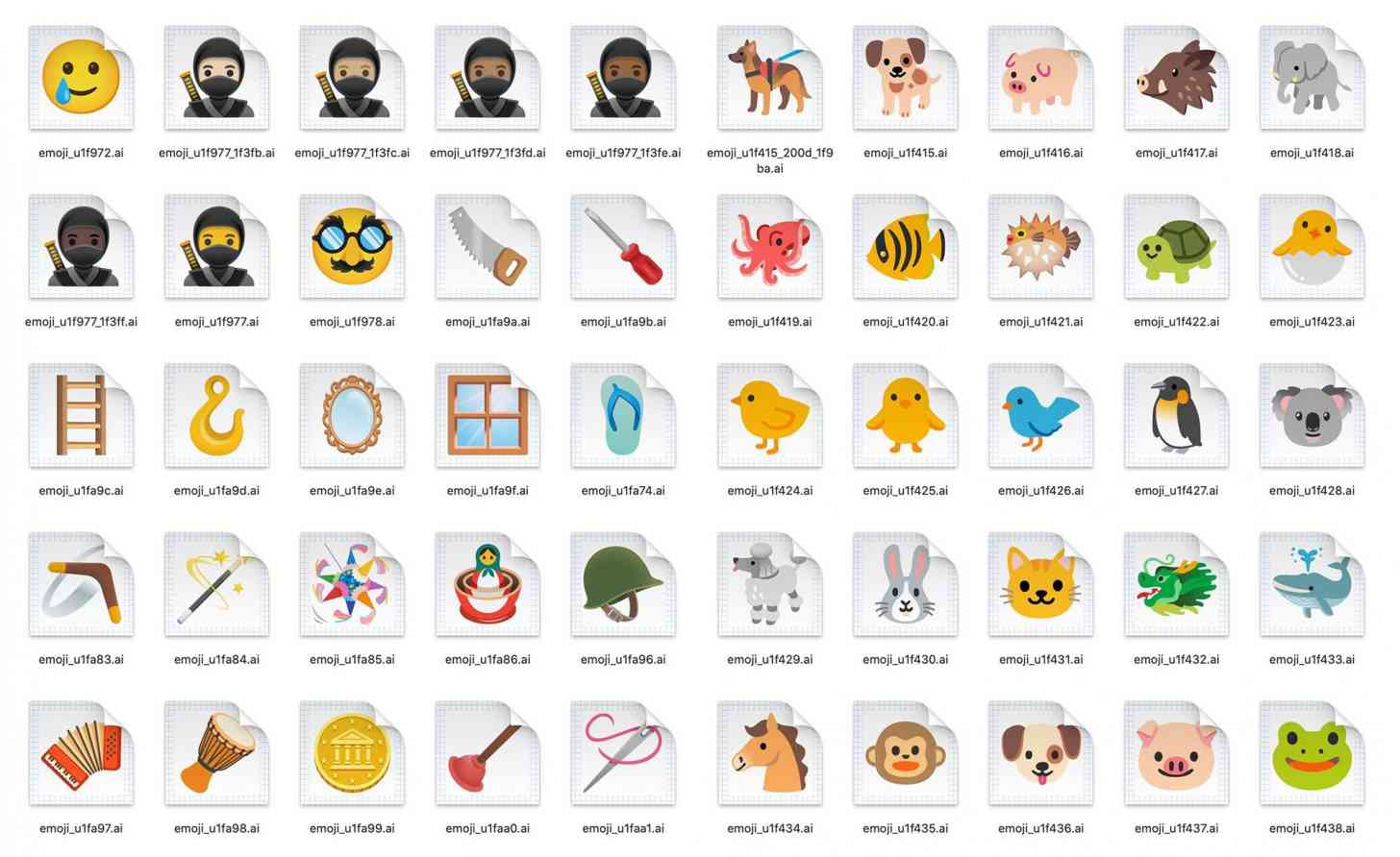 Android 11 new emoji