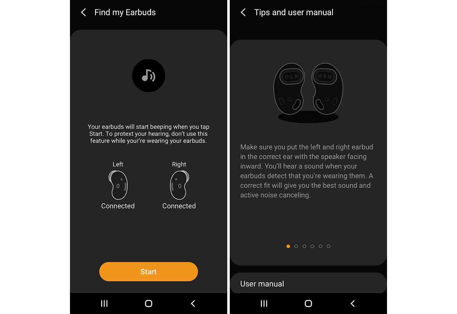 Galaxy Buds Live app leak
