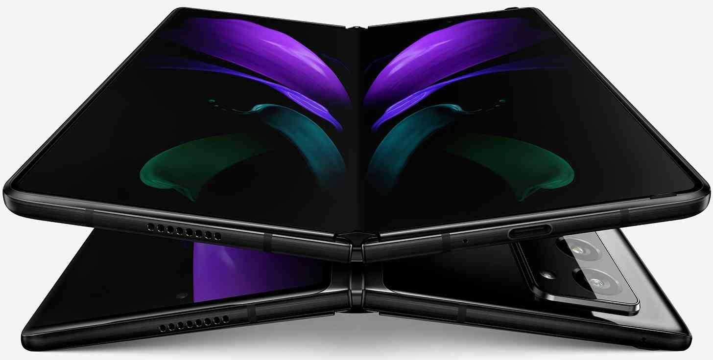Samsung Galaxy Z Fold 2 gray leak
