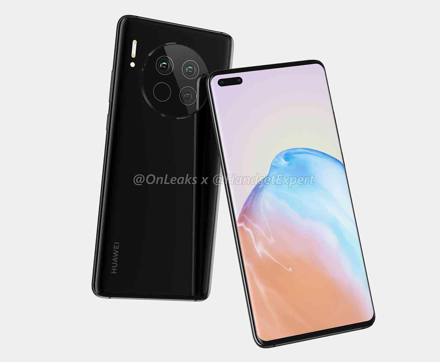 Huawei Mate 40 design leak