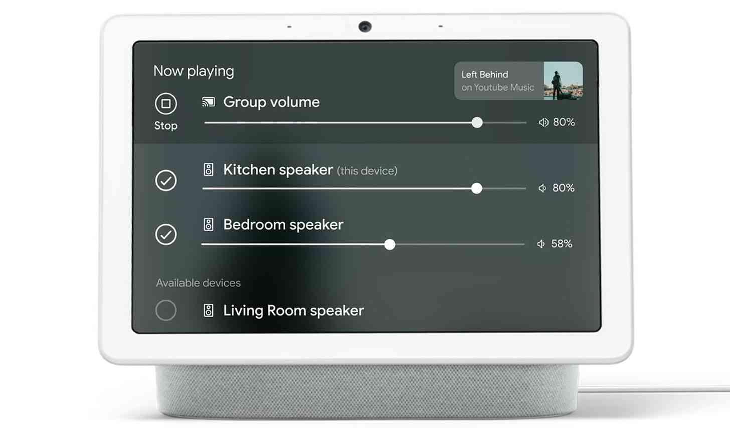 Nest Hub multi-room audio real-time