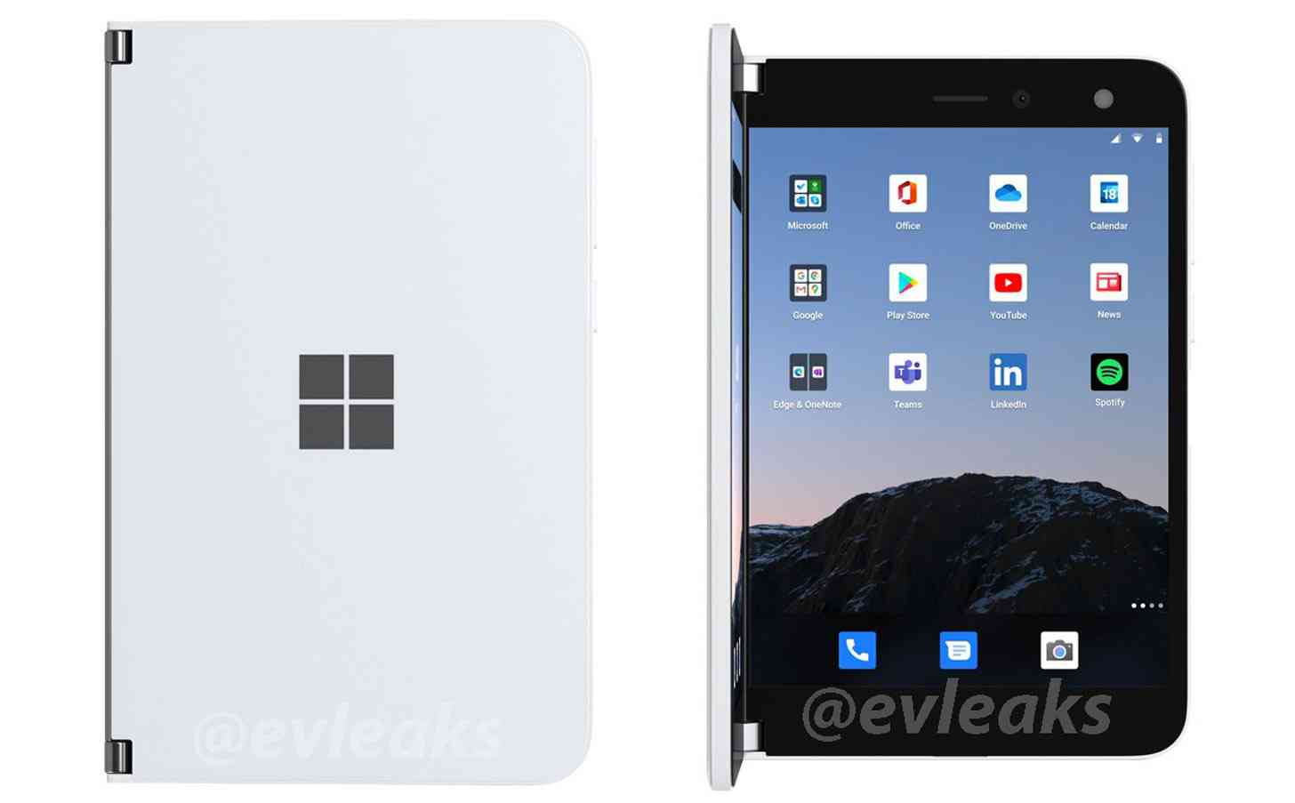 Surface Duo for AT&T folded