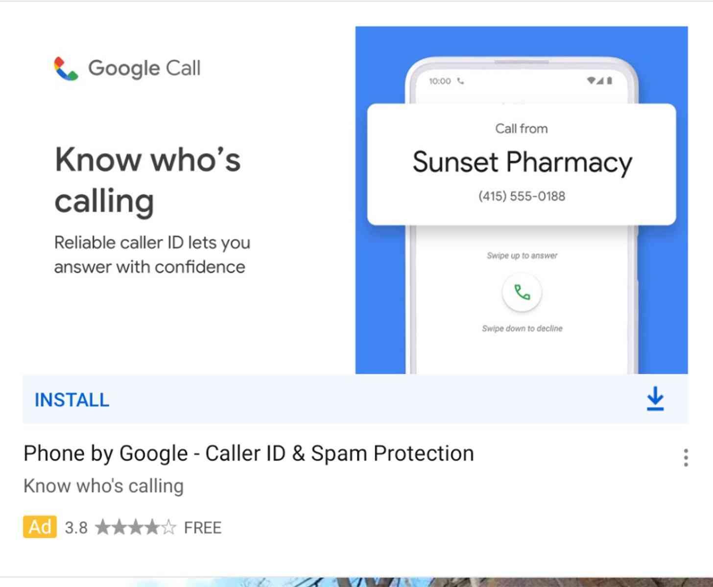 Google Call new icon leak