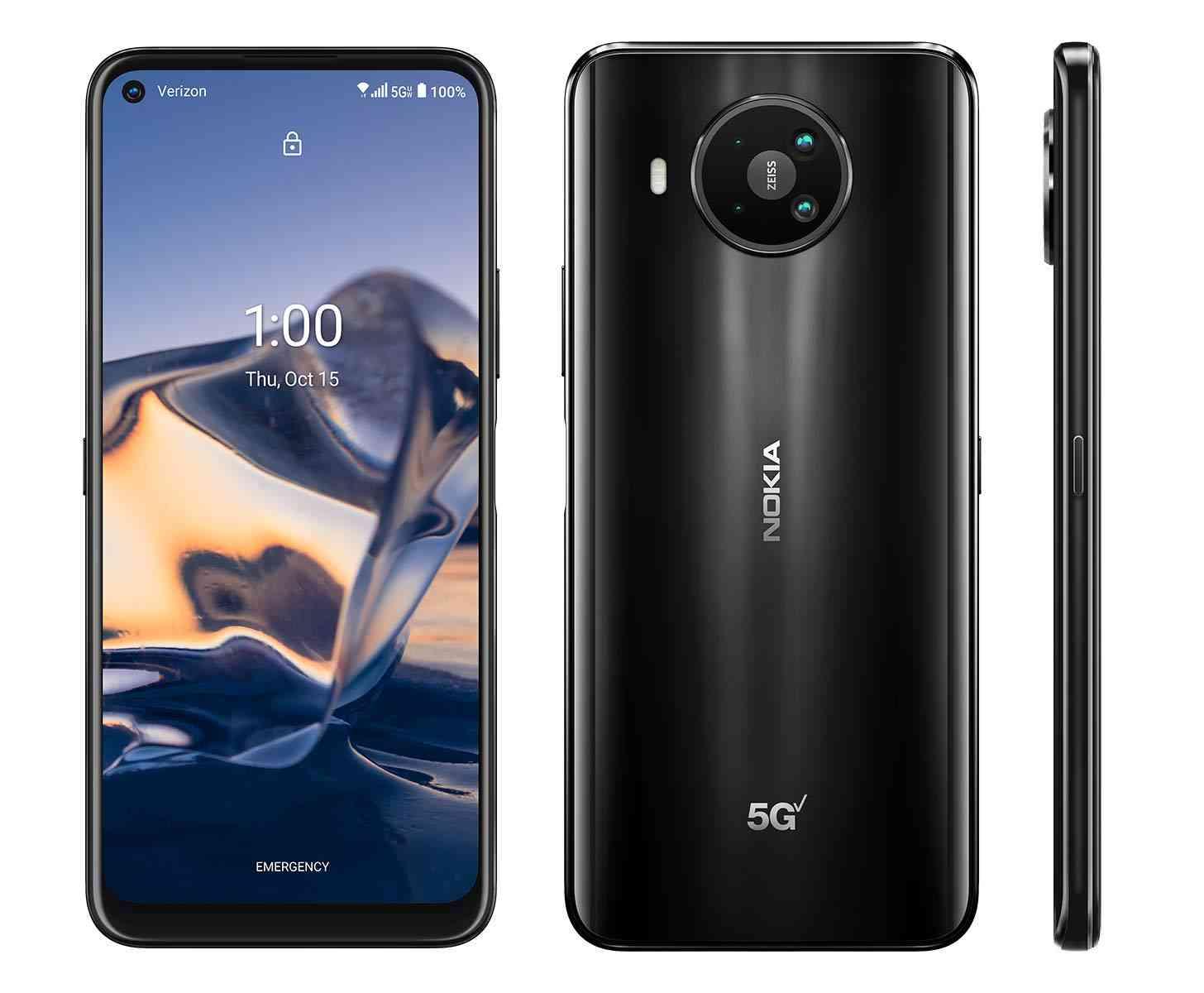 Nokia 8 V 5G UW official