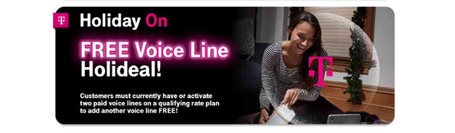 T-Mobile free voice line deal leak