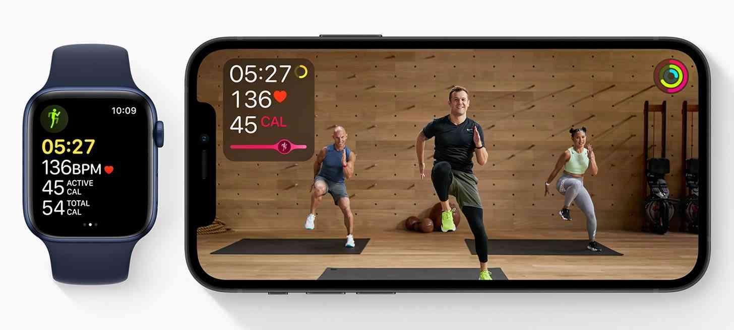 Apple Fitness+ iPhone, Watch