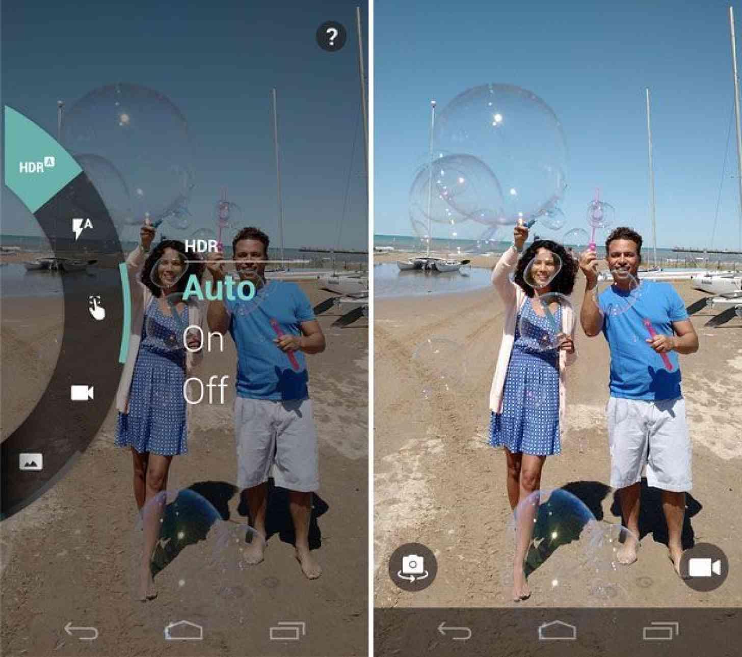 Motorola Camera Material design update