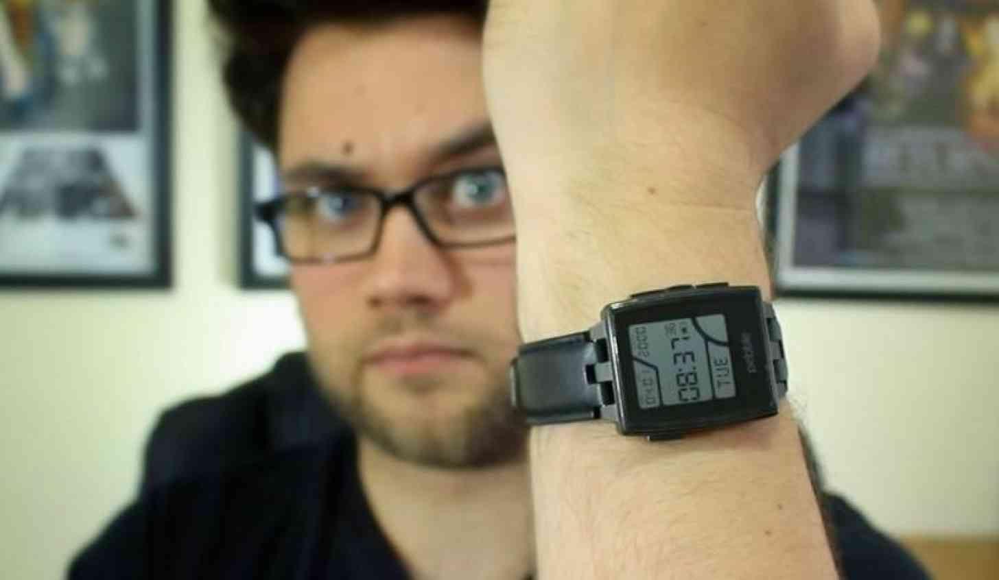 Pebble Steel wrist Cam Bunton