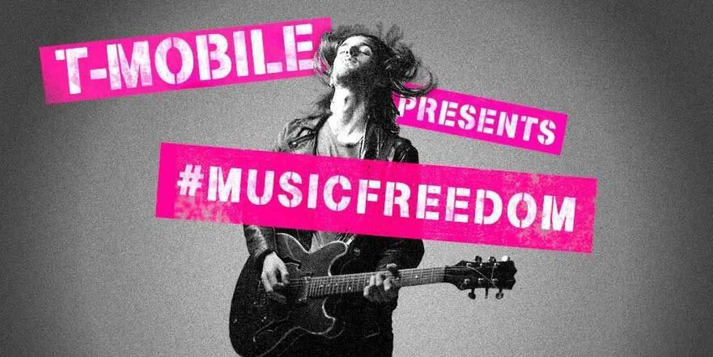 T-Mobile Music Freedom logo