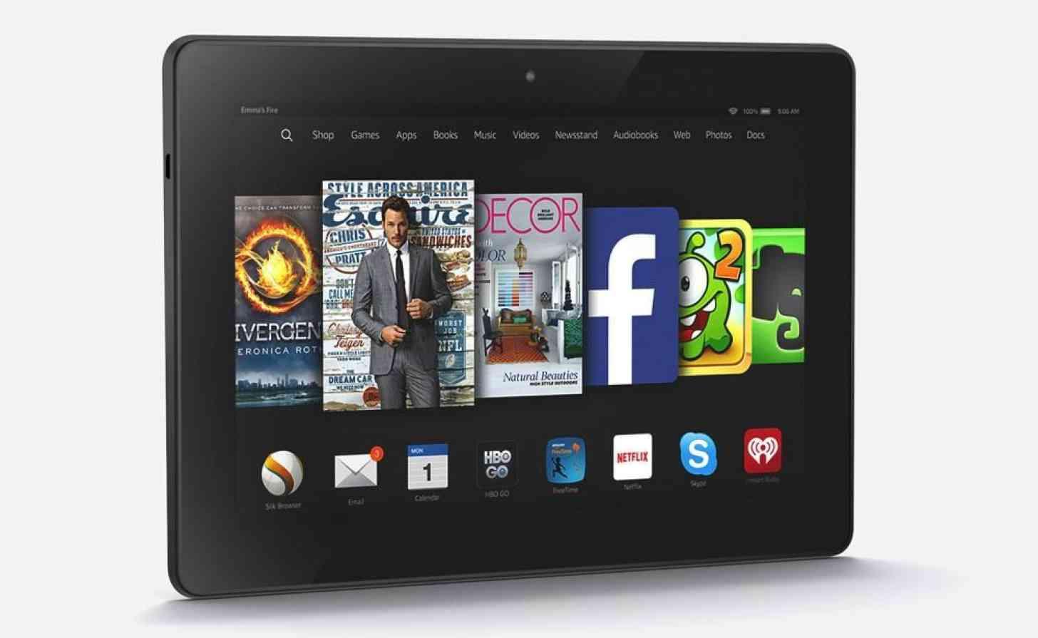 Amazon Fire HDX 8.9 front