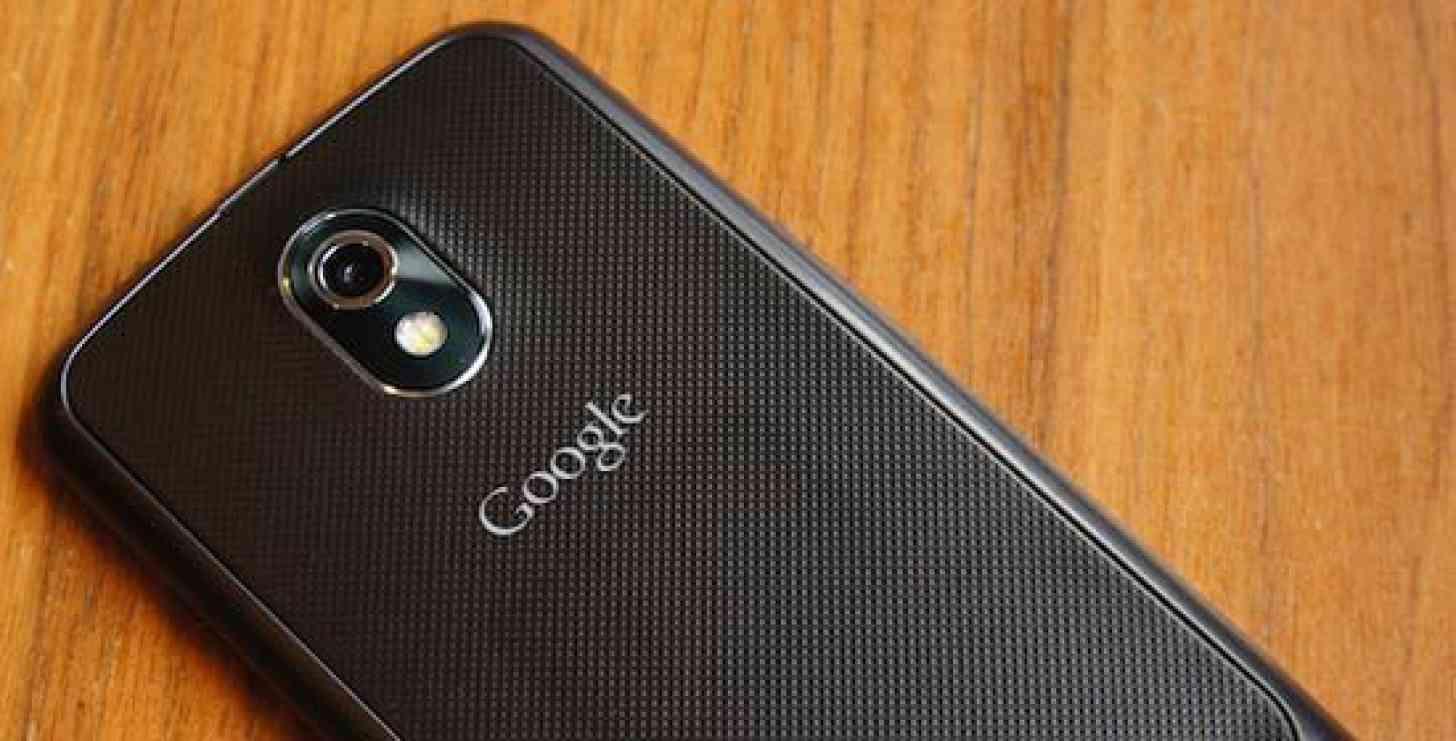 Google logo Samsung Galaxy Nexus